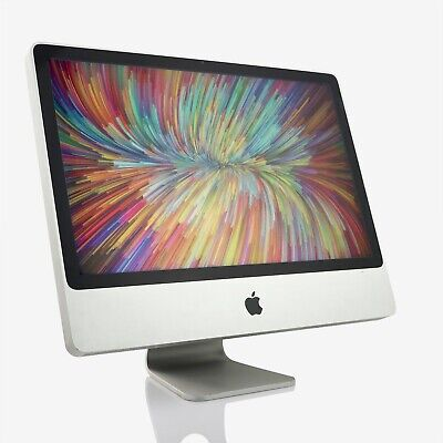 "Apple iMac 24"" (2007) Core 2 Duo 2.40GHz 4GB 500GB HDD (B)"