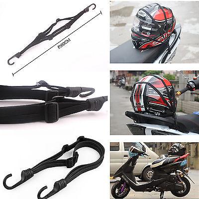Motorcycle Electric Bike Luggage Rack Fixed Cargo Helmet Storage Resilient Rope
