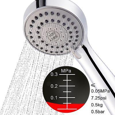 YOO.MEE High Pressure Handheld Shower Head with Powerful Sho