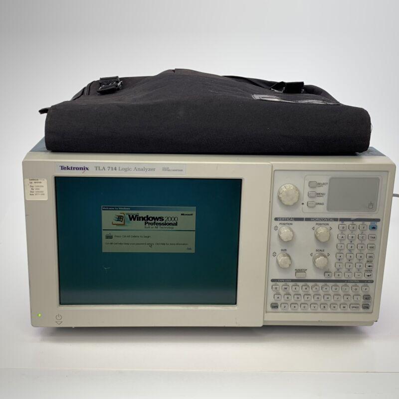 TLA714 Logic Analyzer Windows 2000 Pro w/Cable