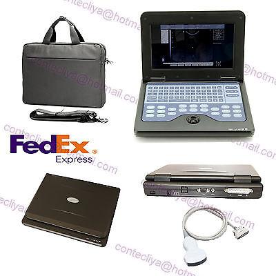 Portable Laptop Machine Digital Ultrasound Scanner 3.5m Convex Probeusa Fedex