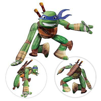 Riesiges 117cm Leonardo Luftballon Lebensechte Größe Tmnt Teenage Mutant Ninja ()