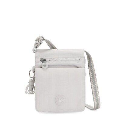 Kipling Small Crossbody Bag NEW ELDORADO in CURIOSITY GREY SS20 RRP £48