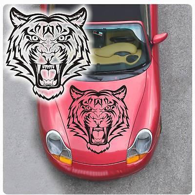 Autoaufkleber Tribal Tiger Auto Aufkleber Sticker Motorhauben Haube A1090  Tiger Aufkleber