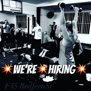Fitness instructor wanted!!! Redfern Inner Sydney Preview