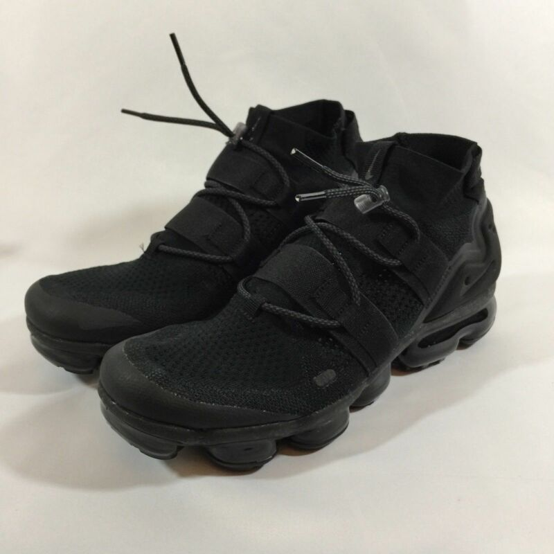 871d75eeb29 Nike Air Vapormax Flyknit Utility Triple Black ACG AH6834-001 Men s Sz. 8.5  New