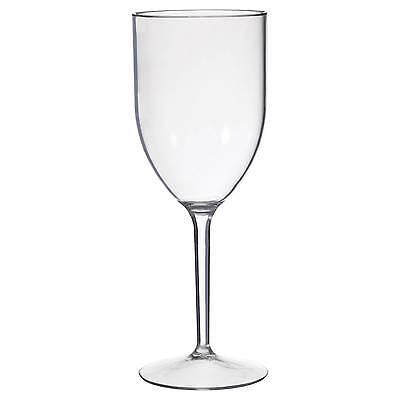 CreativeWare 8 Pack 12oz. Acrylic Wine Glasses - Clear