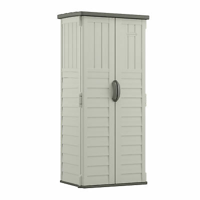 Suncast 2 ft. 8 in. W x 2 ft. 2 in. D Plastic Vertical Tool Shed