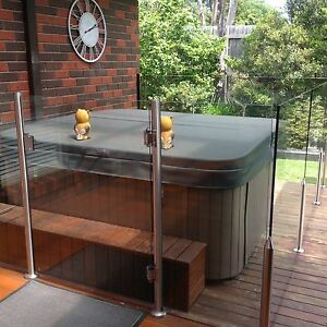 Glass pool/spa fence Rowville Knox Area Preview