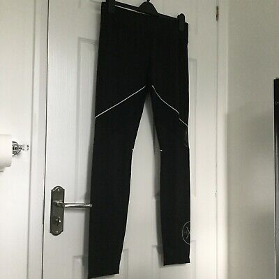 BNWT Authentic Hoxton Haus Black Cara Leggings With Mesh & Reflective Strips -L