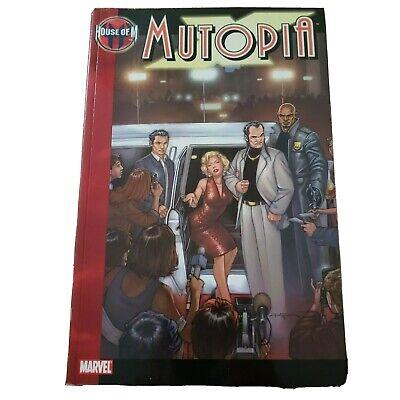 Marvel House of M Mutopia X-Men 2006 Paperback Comic Graphic Excellent Condition