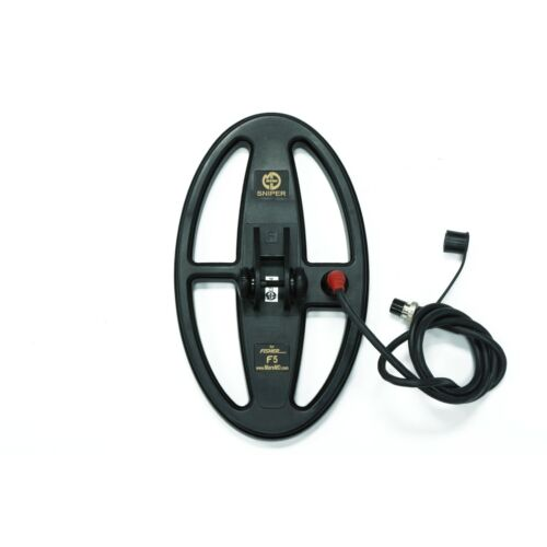 """Mars Sniper 10""""x6"""" DD WaterproofSearch Coil for Fisher F5 Metal Detector"""