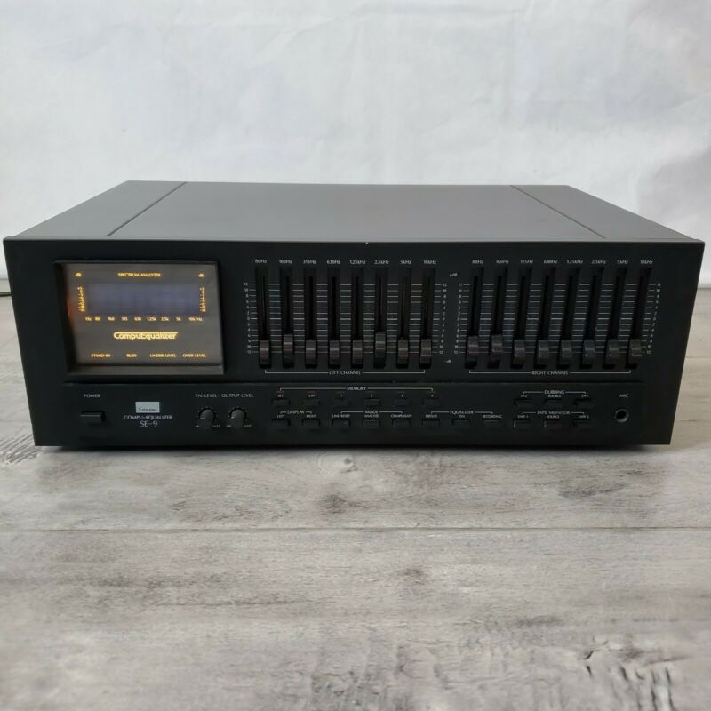SANSUI SE-9 Compu-Equalizer