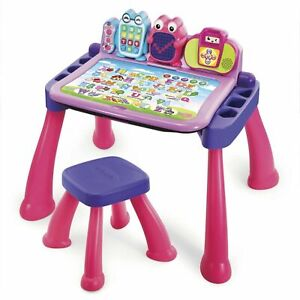 VTech Touch and Learn Activity Desk Deluxe - Pink