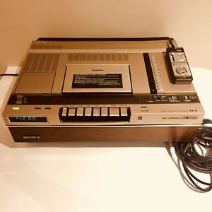 SONY Betamax SL-5800 Video Recorder (1980)
