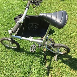 Travel bike, folding with carry bag