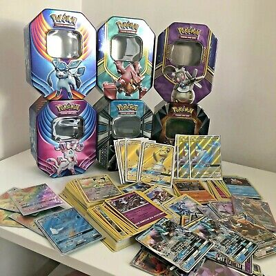 Premium 150 Pokemon Trading Card Bundle! GUARANTEED GX - EX - Tin - Promo