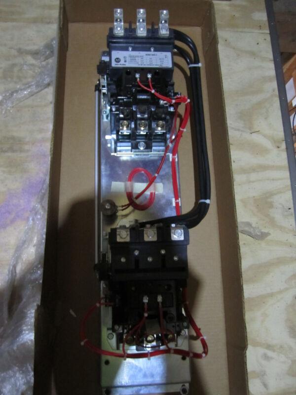 New In Box Allen Bradley135a Two-speed 520ve-eod-xxx Starter Size 4
