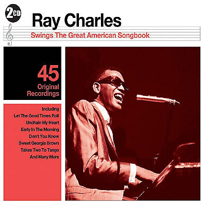 Ray Charles - Great American Songbook - 2CD SET - BRAND NEW SEALED GREATEST HITS