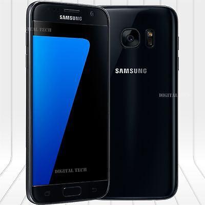 "Samsung Galaxy S7 G930V 4G LTE 32GB 5.5"" 12MP Android Unlocked Phone New Black"
