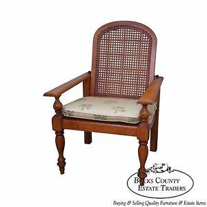 Tommy Bahama for Lexington Cane Back Plantation Arm Chair