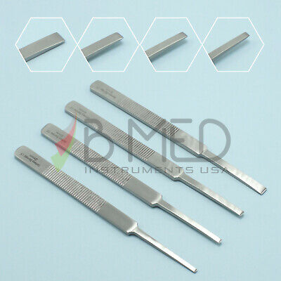 Or Grade Cerkes Micro Osteotomes Set 2mm 3mm 4mm 6mm Plastic Surgery