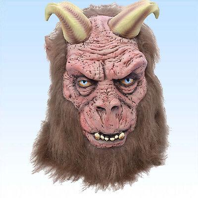 rnern Vollmaske Satan Belzebub Teufelsmaske Karnevalsmaske (Teufel Mit Hörnern)
