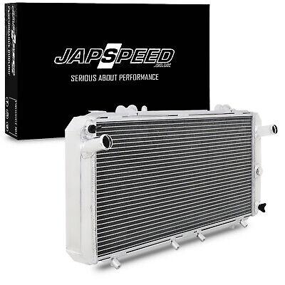 JAPSPEED ALUMINIUM RAD RADIATOR FOR TOYOTA MR2 TURBO SW20 REV1 REV2 REV3 90-95