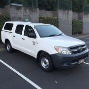 TOYOTA HILUX DUAL CAB 4X2 2.7L 4cyl Manual 6 seats ARB canopy Ashmore Gold Coast City Preview