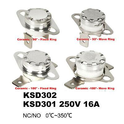 Ksd301302 Ceramic Temperature Control Switch 250v16a Thermostat 30350 Sensor