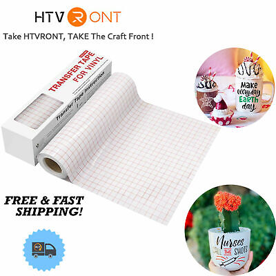 Adhesive Transfer Tape For Vinyl 6 X 50 Feet Craft Application Paper For Cricut