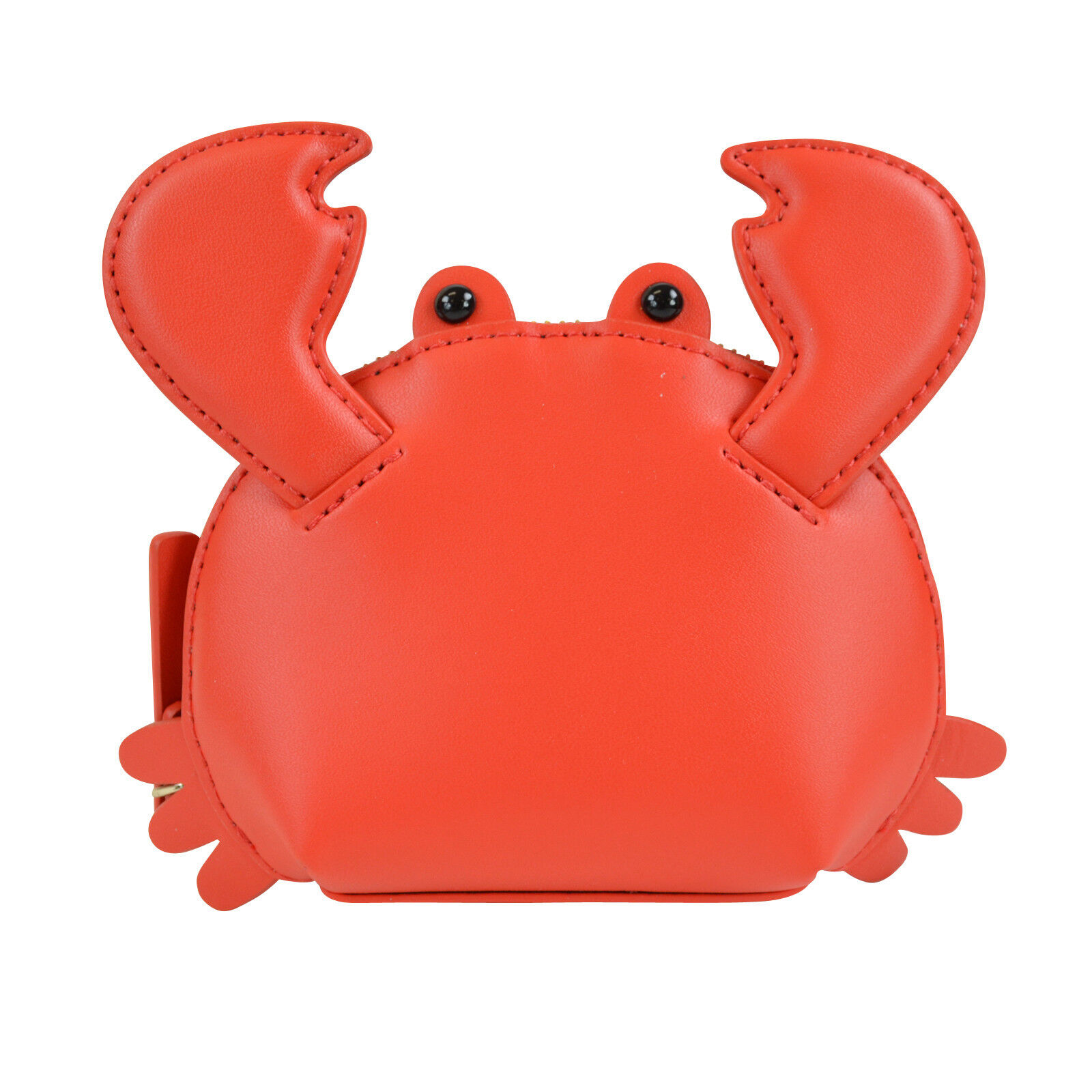 100% authentic d8acf feb78 Details about NWT Kate Spade Shore Thing Crab Coin Case Wallet w Key Chain  Red