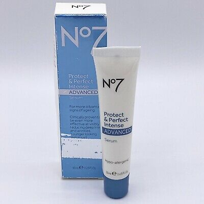 Boots No7 Protect & Perfect Intense Advanced Serum Reduce Lines & Wrinkles 1 Oz