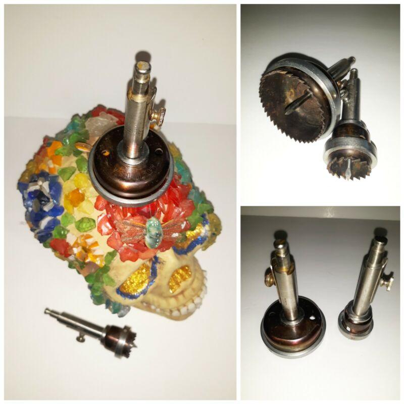Antique USA Trephine Brain Skull Drill Surgeon Medical Set Codman&Shurtleff