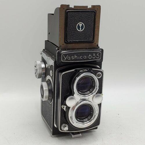 Yashica 635 120 Film TLR Camera w/ Yashikor 80mm F3.5 Lenses EP Marked *READ*