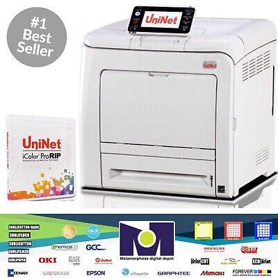 Uninet Icolor 550 White Toner Heat Transfer Laser Printerpro Rip Free Shipment