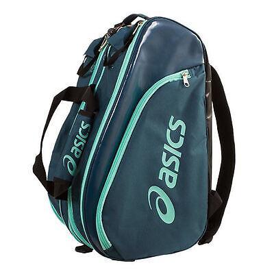 Asics Padel Bag Medium Sports Performace Carry Case Teal 125914 0053