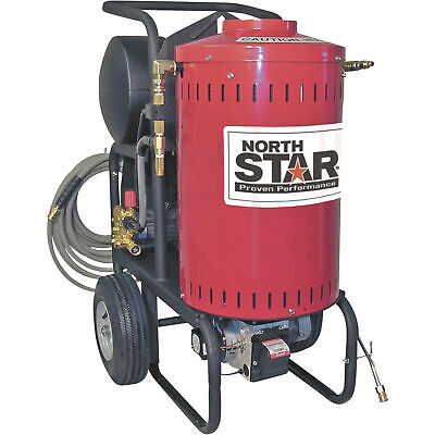 Northstar Electric Wet Steam Hot Water Pressure Washer- 1700 Psi 1.5 Gpm 120v