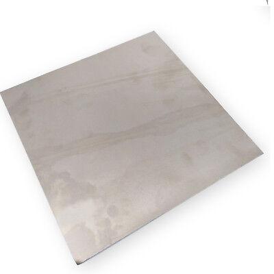 Us Stock 0.5mm X 200mm X 200mm Titanium Plate Ti Titan Tc4 Gr5 Plate Sheet Foil