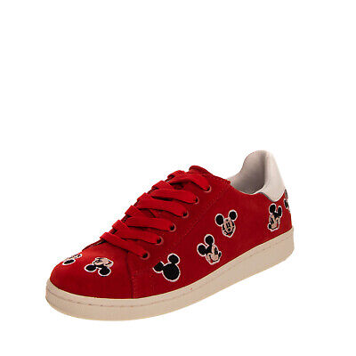RRP €105 MOA MASTER OF ARTS x DISNEY Leather Sneakers Size 33 UK 1 US 1.5