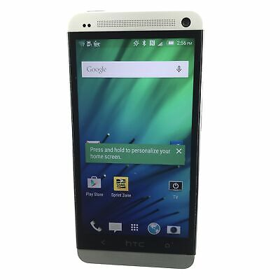 HTC One M7 32GB PN07200 (Sprint) Android Smartphone (B-435) x