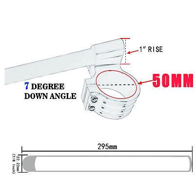 50 mm CNC Handlebar Clip On For Yamaha YZF-R6 2005 2006 2007 2008 2009 2010-2014