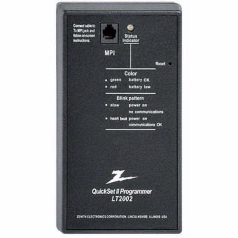 LG QUICKSET II CLONING PROGRAMMER REMOTE FOR LG3DCH HDTV LT 2002