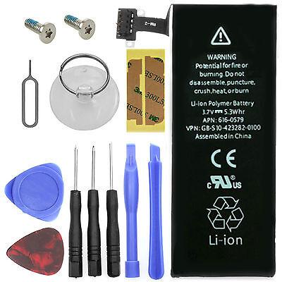 Ersatz Akku für Original Apple iPhone 4S 1430mah Batterie +Werkzeug+Schrauben