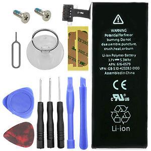 Ersatz Akku für Original Apple iPhone 4S 1430mah Batterie + Werkzeug + Schrauben