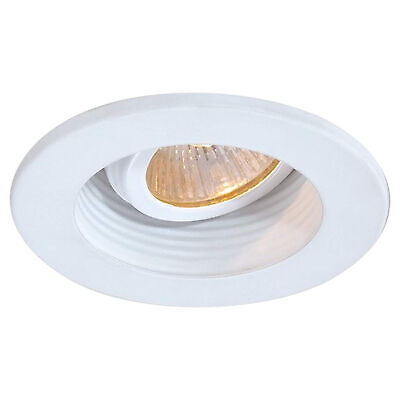 Trim 3 Inch - Step - Baffle Style - White 3 Inch Step Baffle Trim