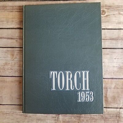 Harris Teachers College St Louis Missouri Torch Yearbook 1953