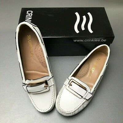Chaussures blanches Crinkles neuves - Pointure 37 (A)
