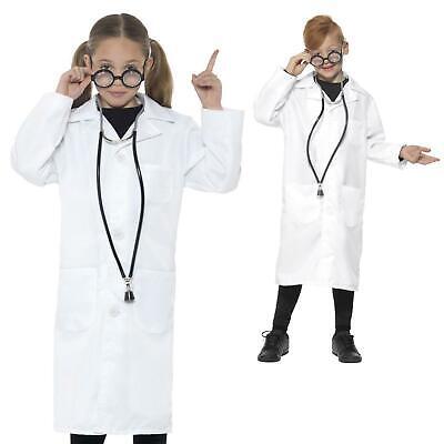 Kostüm Laborkittel Jungen Mädchen Buch Woche Karneval (Jungen Wissenschaftler Kostüm)