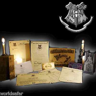 Hogwarts MEGA PACK! Acceptance Letter, Maps + MORE! Harry Potter Style Birthdays